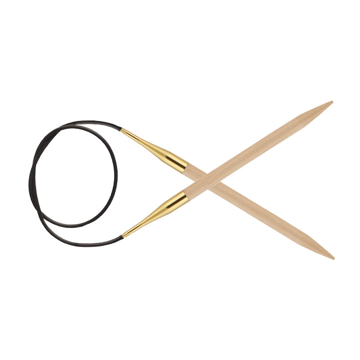 10.0mm Circular Knitting Needles | KnitPro Basix Birch
