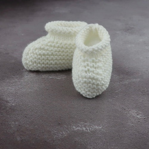 Digital Pattern: Cairngorm Baby Booties