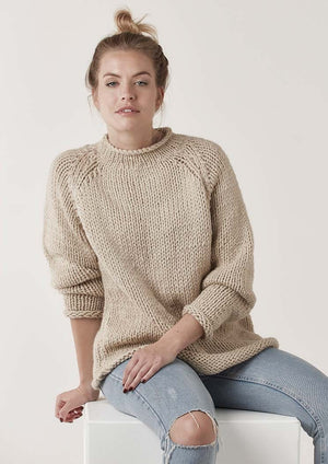 Digital Pattern: Cara Jumper by Quail Studio /  Rowan