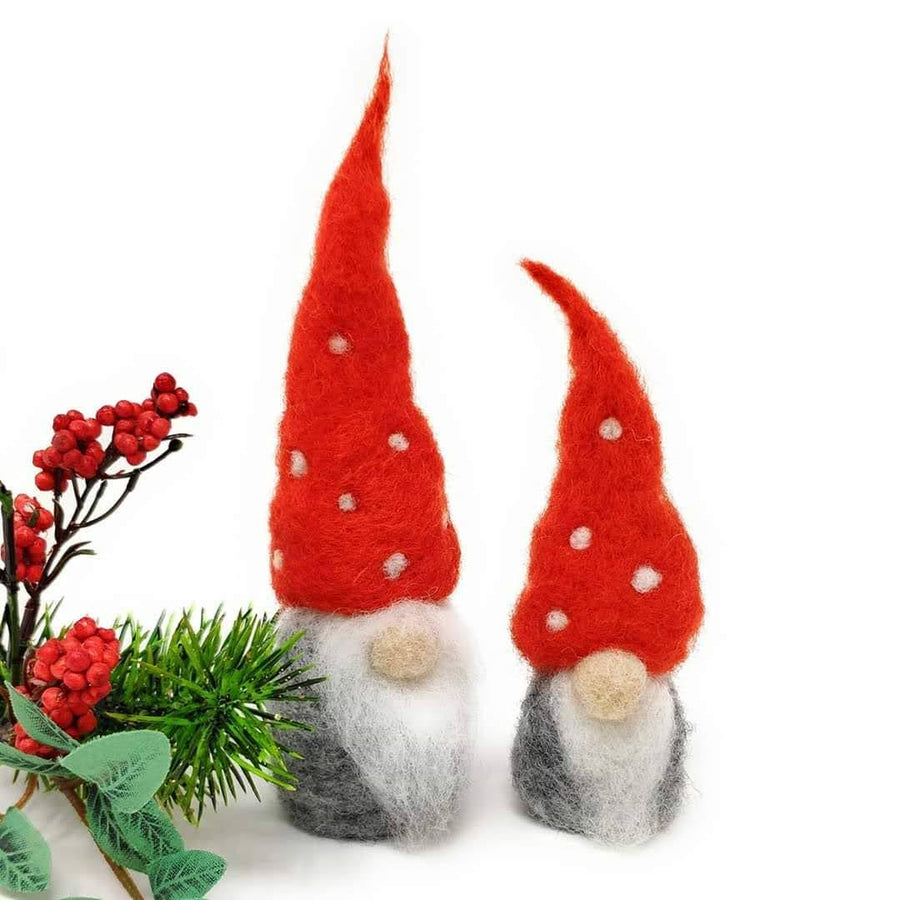 Nordic Gnomes Needle Felting Kit by The Crafty Kit Co