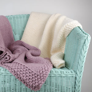 Elysia Baby Blanket Knit Kit