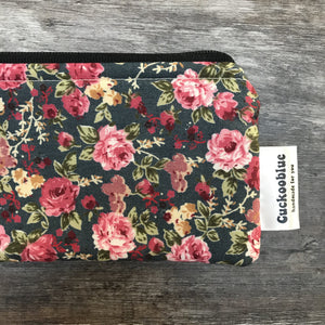 Handmade Knitting Needle Storage Bag by Cuckoo Blue - Vintage Roses