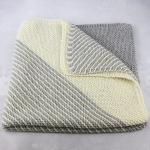 The Lite Kit - India Baby Blanket Knit Kit