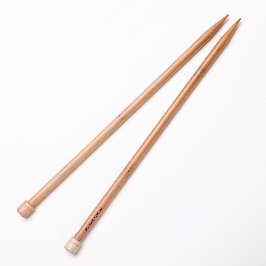 10.0mm Knitting Needles | Milward Bamboo