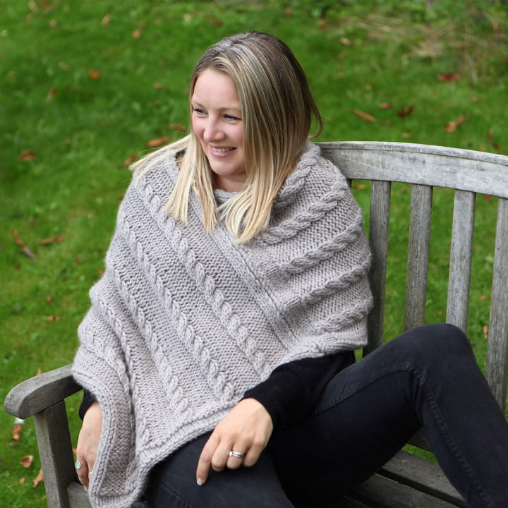 Malham Poncho Knit Kit