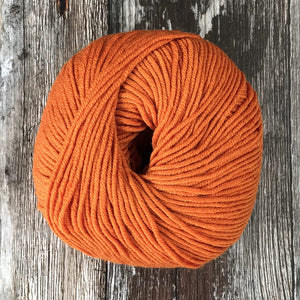 'Yarn' by The Knit Kit Company | Rajah Orange