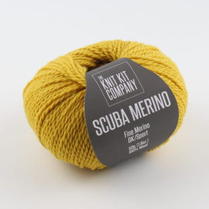 Scuba Merino | Retro Yellow