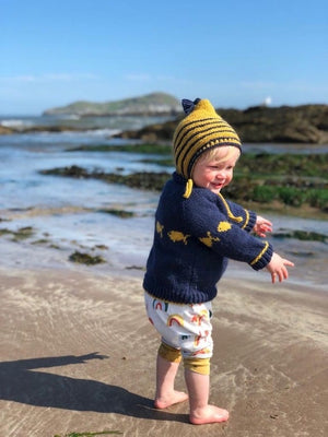 THE TIDDLER - JANE'S SCUBA BABY JUMPER