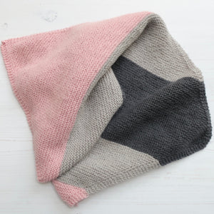 Beginner Knit Kit - Skye Baby Blanket