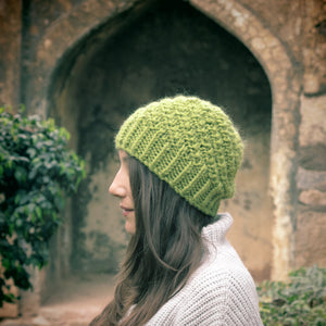 Urchin Spiral Hat Knit Kit