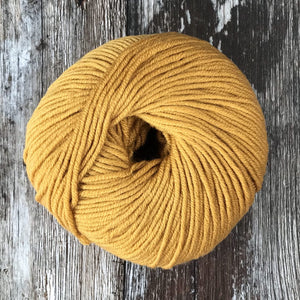 'Yarn' by The Knit Kit Company | Granny's Curtains Yellow