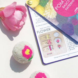 Loome Pom Pom Basics & Patterns Book