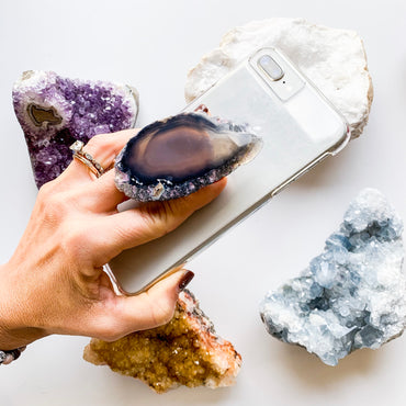Gemstone Phone Grip