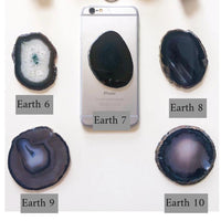 Gemstone Phone Grips- Earth Tones