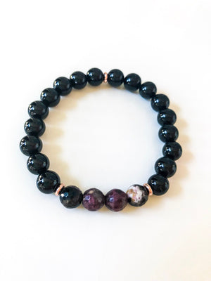 Black Onyx Intention Bracelet