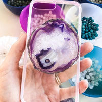 Gemstone Phone Grips- Majestic Purples