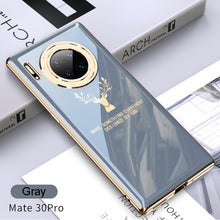 Load image into Gallery viewer, 2020 Luxury Plating Deer Pattern Phone Case For Huawei