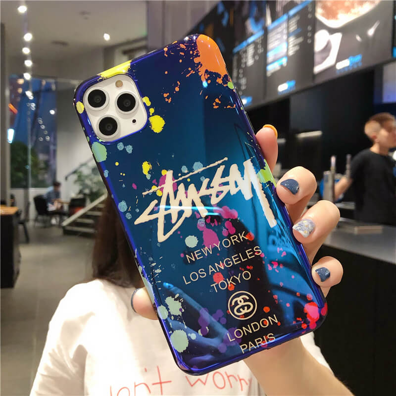 Street Fashion Graffiti Phone Case For iPhone「stussy」