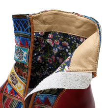 Load image into Gallery viewer, Bohemia New Casual Vintage Ethnic Style Genuine Leather Women's Boots
