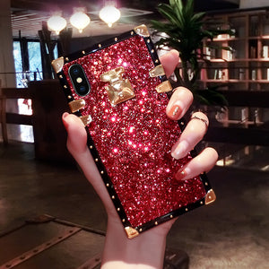 2020 French Style Luxury Diamond Phone Case For iPhone