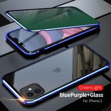 Load image into Gallery viewer, 2020 Double-Sided Protection Anti-Peep Tempered Glass Cover For iPhone 11 Series