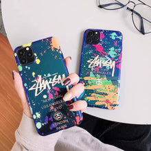 Load image into Gallery viewer, Street Fashion Graffiti Phone Case For iPhone「stussy」