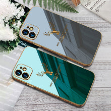 Load image into Gallery viewer, 2020 Luxury Plating Deer Pattern Phone Case For iPhone 12, 11, X, 8, 7, SE Series