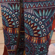 Load image into Gallery viewer, Bohemian Splicing Pattern Flat Leather Knee Boots