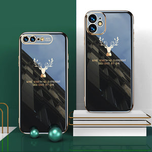 iPhone | 2020 Luxury Plating Deer Pattern Phone Case (BUY 3 ONLY $33.98🔥)