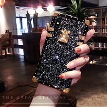 Load image into Gallery viewer, 2020 French Style Luxury Diamond Phone Case For iPhone