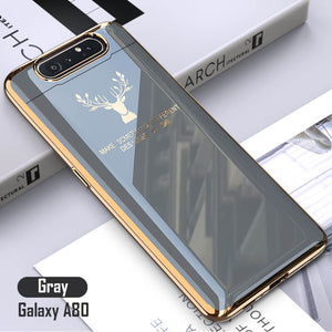 Samsung A80 | 2020 Luxury Plating Deer Pattern Phone Case(BUY 2 ONLY $26.99🔥)