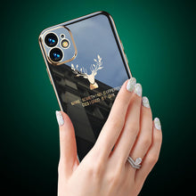 Load image into Gallery viewer, iPhone | 2020 Luxury Plating Deer Pattern Phone Case (BUY 3 ONLY $33.98🔥)