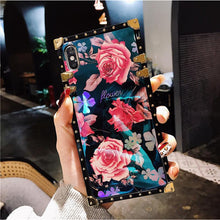 Load image into Gallery viewer, Vintage Fashion Rose Phone Case For iPhone Samsung Huawei - hotbuyy