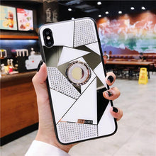 Load image into Gallery viewer, 2019 New High Quality Diamond iPhone Case with Ring and Lanyard