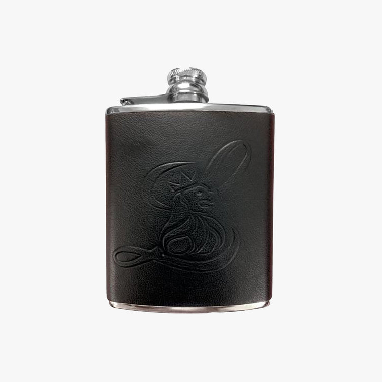Hip Flask Leathersmith of London