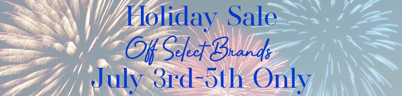 Holiday Sale - Fourth of July