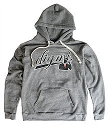 DBL Pullover Hooded Sweatshirt Vintage Gray - The Gathering Shops