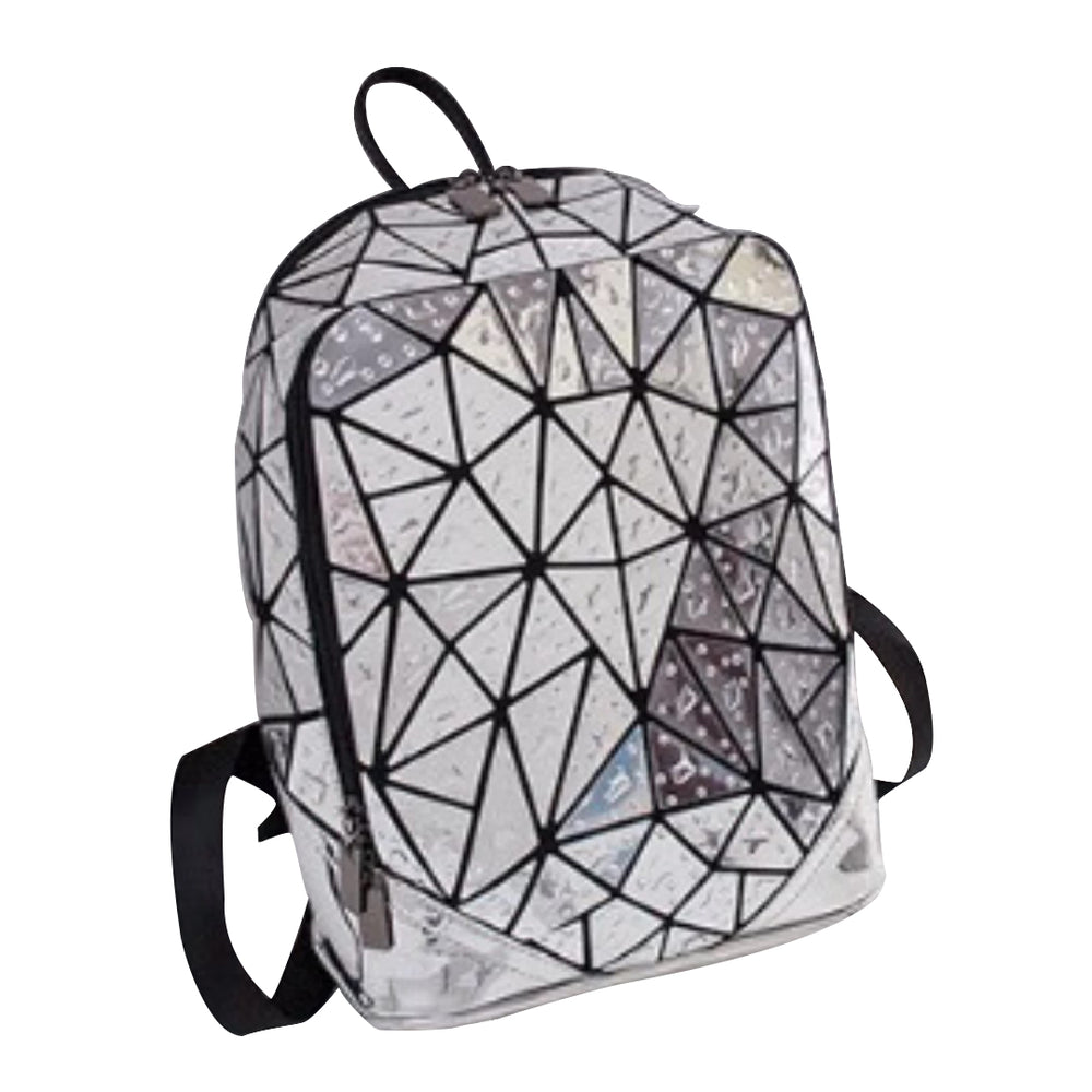 Junell5 Silver Raindrop Backpack - The Gathering Shops