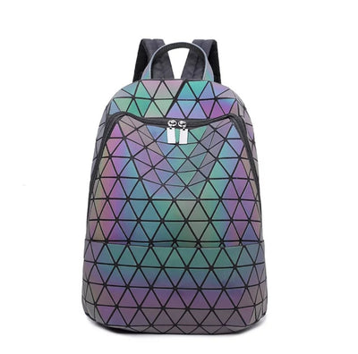 Junell5 Small Diamonds Luminous Backpack - The Gathering Shops