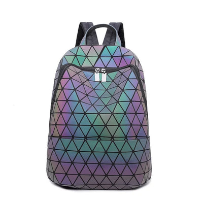 Junell5 Large Luminous Diamonds Backpack - The Gathering Shops