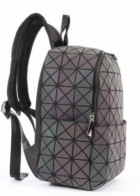 Junell5 Squares Luminous Backpack Small