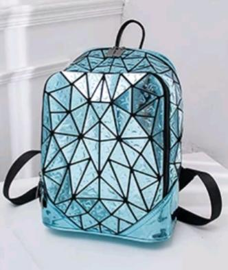 Blue Raindrop Backpack - The Gathering Shops