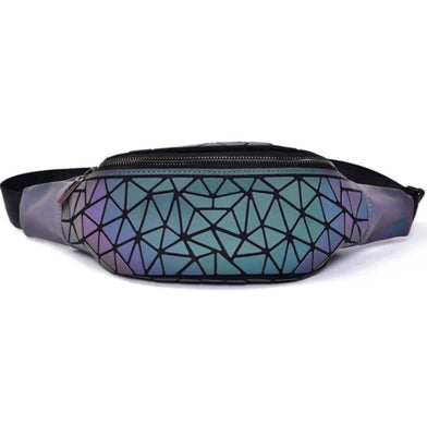 Junell5 Luminous Waist/Chest Pouch Bag - Diamond - The Gathering Shops