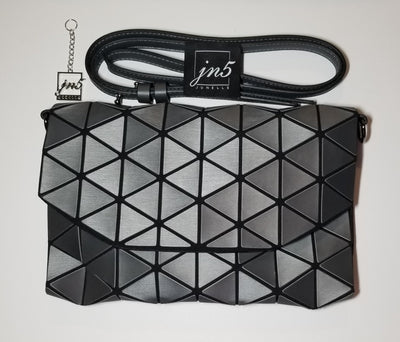 Junell5 Graphite Envelope Triangle Clutch Purse - The Gathering Shops