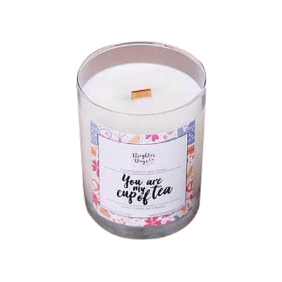 Brighter Days You Are My Cup Of Tea Candle - The Gathering Shops