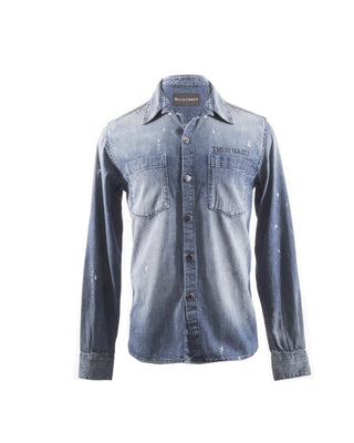 STAFFORD JAPANESE DENIM SHIRT DARK WASH