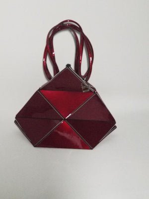 4Way Red Metallic Bag - The Gathering Shops
