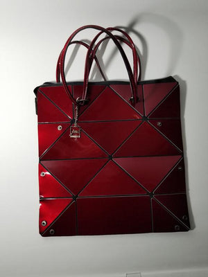 4Way Red Metallic Bag