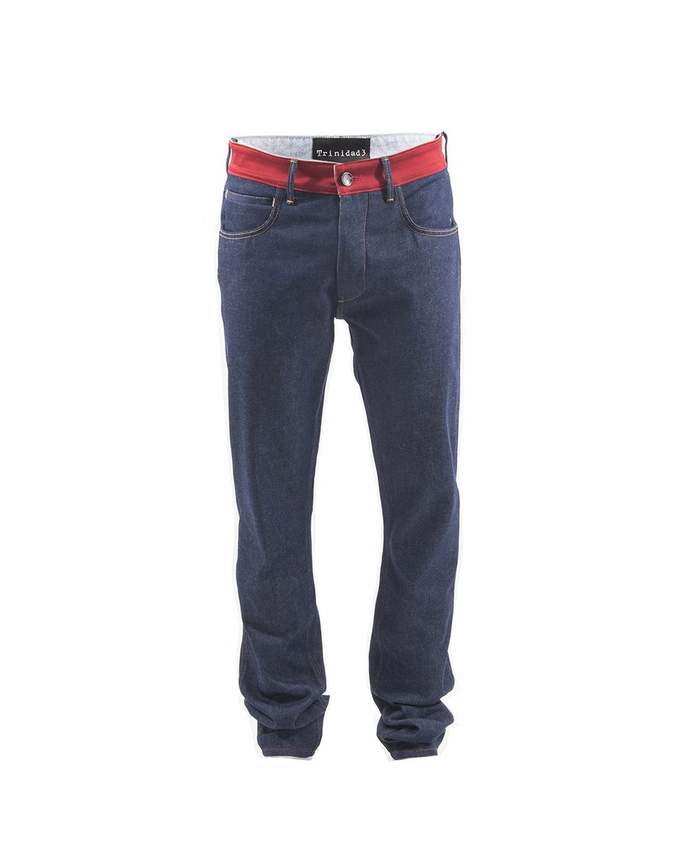 Trinidad3 Johnson Raw Denim Jeans - The Gathering Shops
