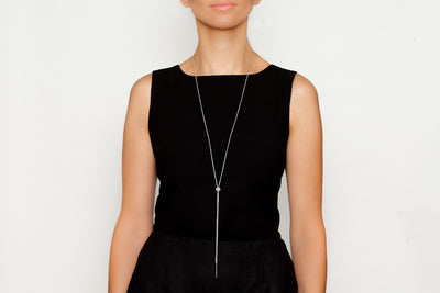 Avenue Chic Minimalist Knot Necklace - The Gathering Shops